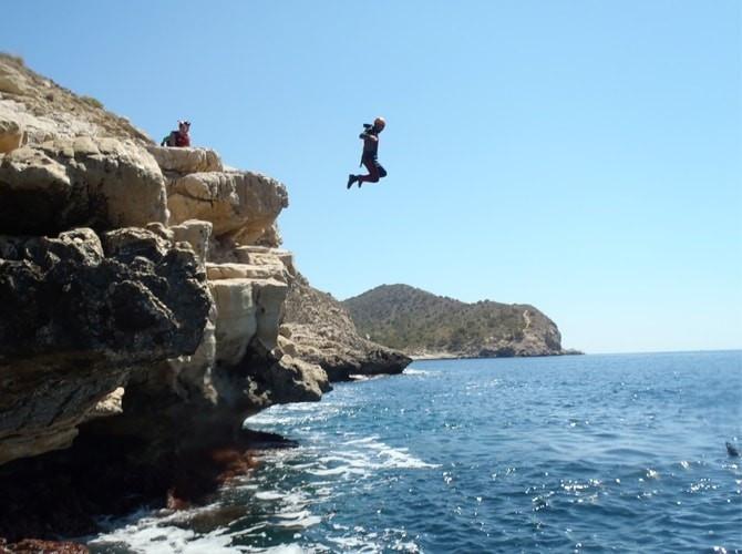 Coasteering Alicante