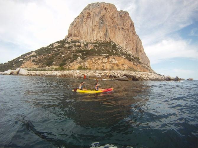 kayak Peñon de Ifach