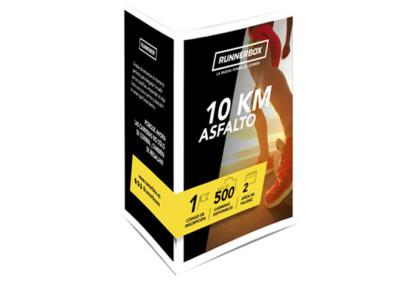 Tarjeta regalo para runners en carreras 10k