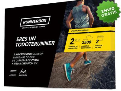 Caja Regalo para runners: Eres un todorunner