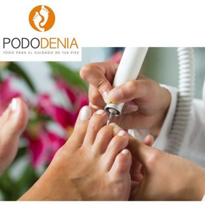 Sesión de quiropodia (limpieza de durezas y corte de uñas)