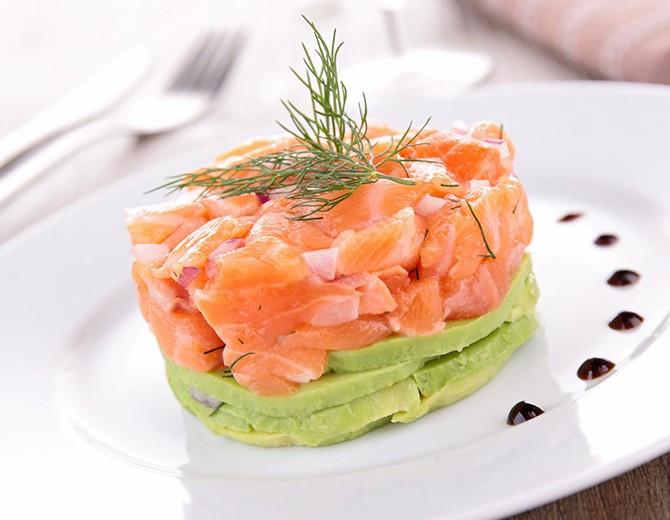 tartar salmon picaetes denia