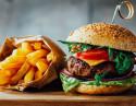 Hamburguesa Gourmet + Ensalada + Patatas asadas + Postre
