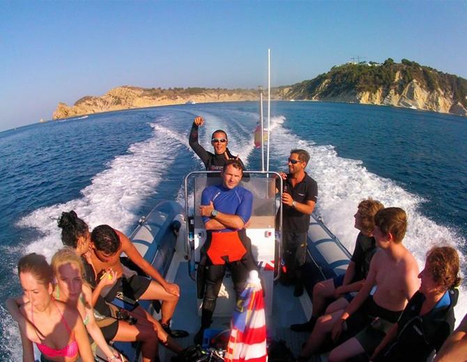 Excursión barco cabos javea