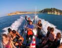 Excursión en lancha a los 3 Cabos de Jávea + Snorkel