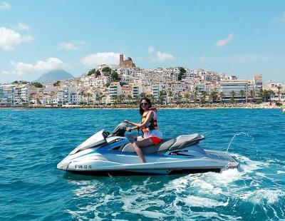 Excursión en moto de agua en Altea desde Portosenso