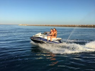 Excursión en Moto de agua Denia 30min + Kayak 1h para 2 personas