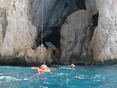 Excursión guiada en Kayak en Altea. Descubre la Sierra de Toix