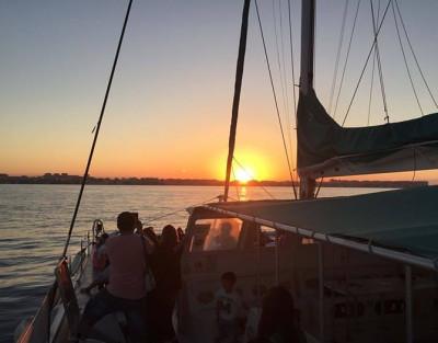 Puesta de Sol en catamarán en Jávea + Copa de Cava