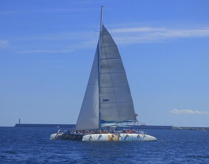 Catamarán en Denia