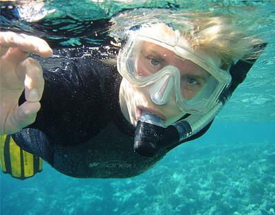 Excursión de Snorkel en Tabarca con salida en barco desde Santa Pola