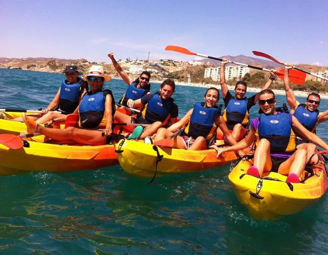 excursion kayak calpe