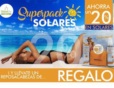Pack de protectores solares
