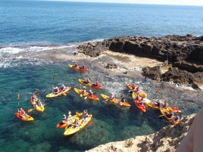Alquiler de kayak en Denia para 2 personas