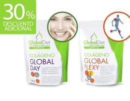 Colágeno Global Flexy y Global Day. Complemento alimenticio