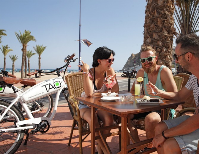 bici electrica en benidorm