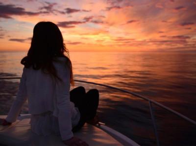 Atardecer en barco privado en Altea