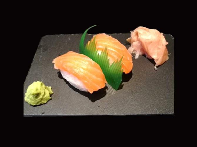 Menú japonés en el Albir