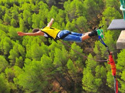 Bungee Jumping en Alicante con reportaje fotográfico