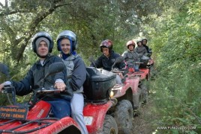 Excursión Quad + Kayak por libre en Denia para 2 personas.