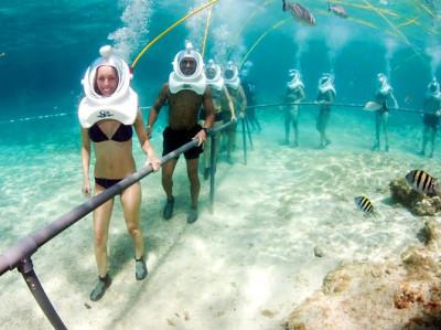 Sea Treck en Benidorm, Javea y Altea ¡Senderismo por el fondo del mar!