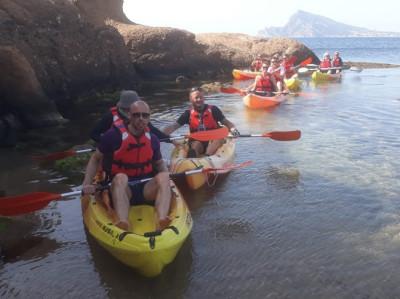 Alquiler de Kayak en Altea desde Portosenso