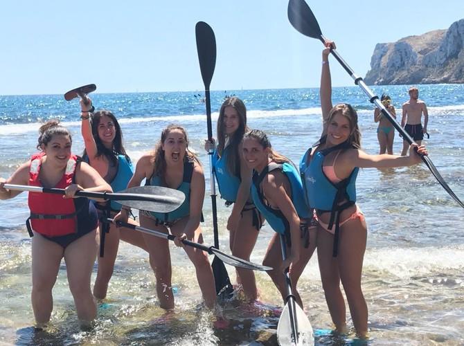 kayak despedida soltera en denia