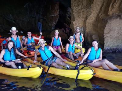Excursión Kayak Cova Tallada + Comida o Cena