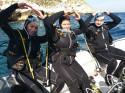 Bautismo de buceo en la isla de Benidorm