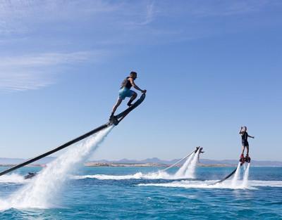 Sesión de Hoverboard en Altea. Lo último para descargar adrenalina