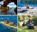 Despedida de soltero en Moto de agua + Quad + Excursión en kayak a la Cova Tallada en Denia