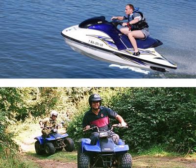 Despedida de soltero en Moto de agua + Quad + Kayak en Denia