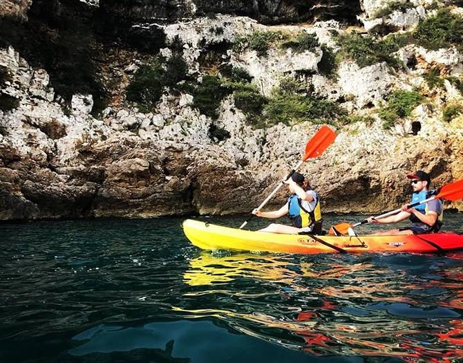 Alquiler de Kayak en la cala Portitxol