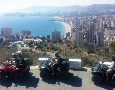 Despedida de Soltero en Benidorm con Excursión en Quad y Moto de Agua