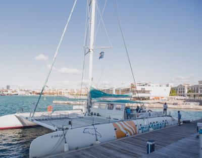 Excursión en Catamarán a Vela en Valencia