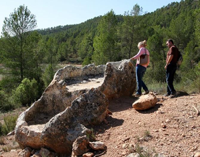 Visita-Yacimiento-Arqueologico-Viñedos-Bodegas-Vegalfaro