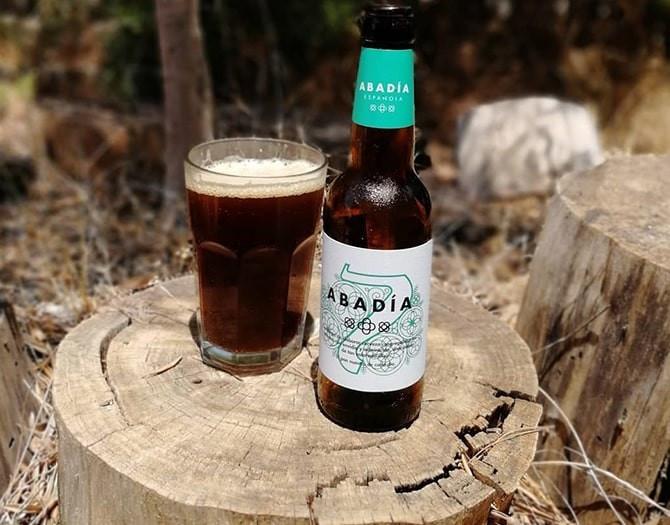 Cerveza Artesana Craft Beer Abadia Española