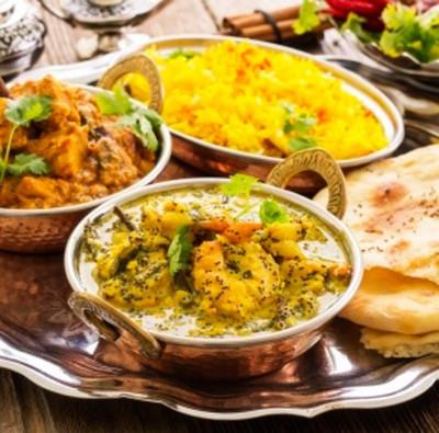 Menú Hindu para 2 personas en Rani Palace