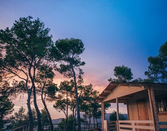 Escapada romántica en cabaña Hotel La Escondida