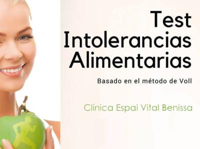 Test de intoleracias Alimentarias en Benissa