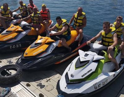 Despedida de Soltero en Valencia. Moto de Agua + Kayak