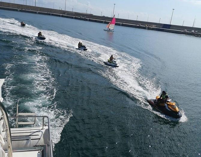 Despedida de Soltero en Valencia. Moto de Agua + Flyboard