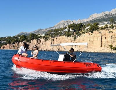 Alquiler Barco sin licencia en Altea ¡Disfruta del mar sin carnet!