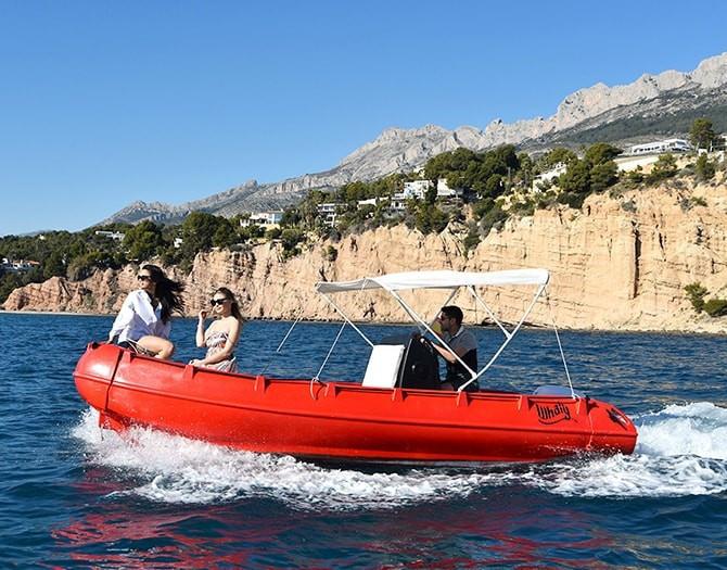 Alquiler Barco Sin Licencia Altea Campomanes