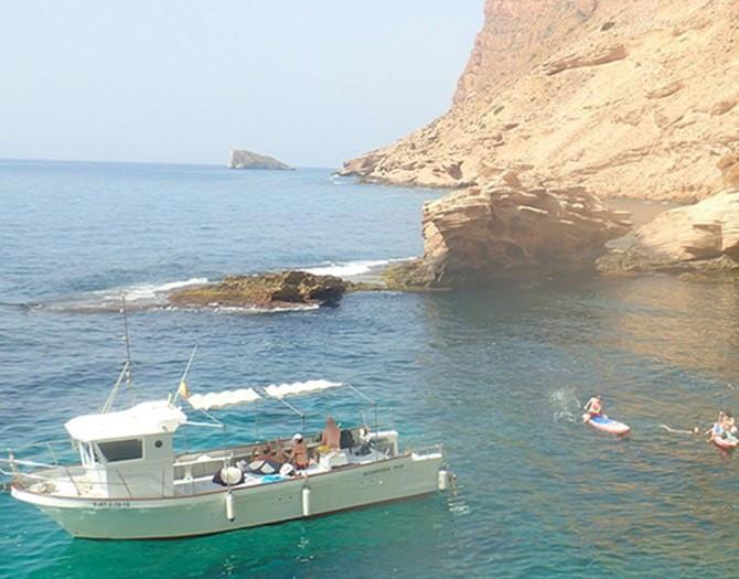 Barco Despedida Soltera Altea Benidorm Albir