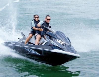 Excursión moto de agua 30min + Quad 1h + Kayak 1h en Denia para 2 personas