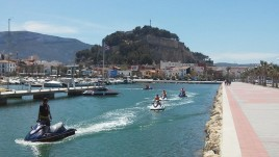 Excursión en Moto de agua + Kayak en Denia para 2 personas