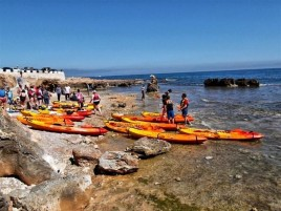 Excursión en Kayak + Paddle surf + Snorkel en Denia para 2 personas