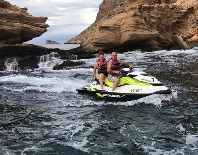 Excursion Moto Agua Benidorm