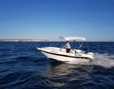 Alquiler de Barco Sin Licencia en Santa Pola (Alicante)